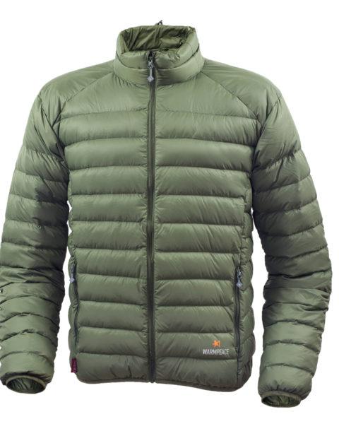 Warmpeace_Drake jacket green