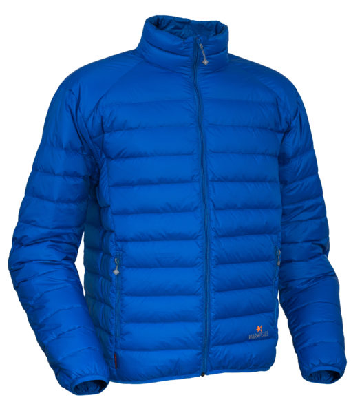 Warmpeace_Drake jacket royal blue