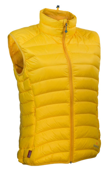 Warmpeace_Swan vest mango