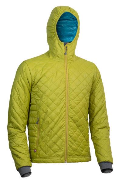 4291 Spirit jacket mustard-petrol
